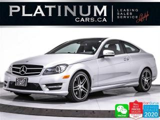 Used 2014 Mercedes-Benz C-Class C350 4MATIC, 302HP, SPORTS PACK, PANO, BT, CAM for sale in Toronto, ON