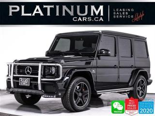 Used 2018 Mercedes-Benz G-Class AMG G63, 563HP, DESIGNO LEATHER, BRABUS MOD, NAV for sale in Toronto, ON