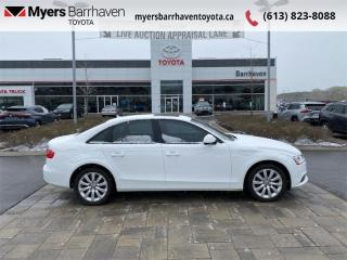Used 2013 Audi A4 4DR SDN AT QTRO  - $110 B/W for sale in Ottawa, ON