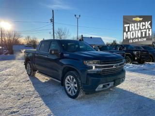 Used 2021 Chevrolet Silverado 1500 High Country  - Cooled Seats for sale in Kemptville, ON