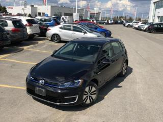 Used 2018 Volkswagen Golf e-Golf Comfortline 4-Door  - Certified for sale in Kanata, ON