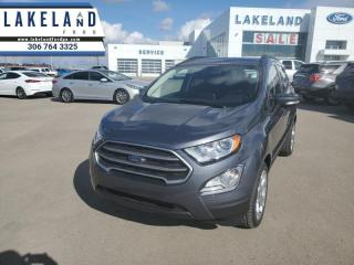 New 2021 Ford EcoSport SE  - Sunroof -  Navigation - $195 B/W for sale in Prince Albert, SK