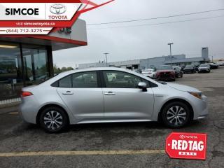 New 2021 Toyota Corolla Hybrid CVT w/Li Battery Premium for sale in Simcoe, ON