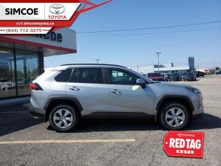 New 2021 Toyota RAV4 LE AWD  -  Heated Seats for sale in Simcoe, ON