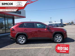 New 2021 Toyota RAV4 Hybrid XLE  - Sunroof for sale in Simcoe, ON