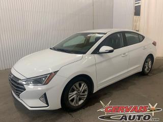 Used 2019 Hyundai Elantra Preferred Mags Caméra A/C Volant Chauffant *Transmission Automatique* for sale in Shawinigan, QC
