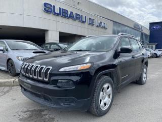 Used 2016 Jeep Cherokee Sport *Caméra recul* for sale in Laval, QC