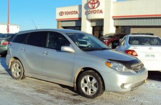 Used 2007 Toyota Matrix XR for sale in North Battleford, SK