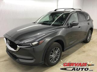 Used 2017 Mazda CX-5 GS AWD GPS Cuir/Tissus Caméra Bluetooth Mags *Traction intégrale* for sale in Shawinigan, QC