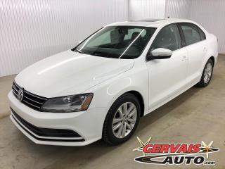 Used 2017 Volkswagen Jetta Wolfsburg Toit Ouvrant Caméra Bluetooth Mags for sale in Shawinigan, QC