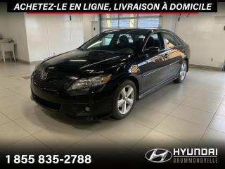 Used 2011 Toyota Camry SE + GARANTIE + A/C + MAGS + WOW !! for sale in Drummondville, QC