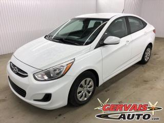 Used 2016 Hyundai Accent GL BLUETOOTH A/C SIÈGES CHAUFFANTS for sale in Shawinigan, QC