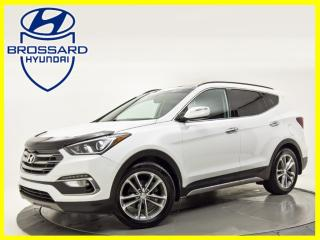 Used 2018 Hyundai Santa Fe Sport 2.0T Limited AWD CUIR TOIT OUVRANT  GPS for sale in Brossard, QC