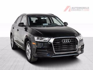 Used 2016 Audi Q3 PROGRESSIVE QUATTRO CUIR TOIT MAGS for sale in St-Hubert, QC
