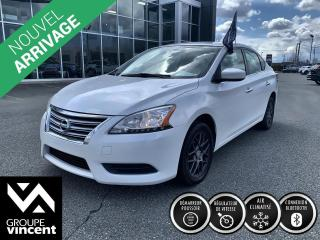 Used 2014 Nissan Sentra SV ** GARANTIE 10 ANS ** Confort et douceur de roulement! for sale in Shawinigan, QC