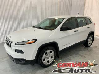 Used 2016 Jeep Cherokee Sport Volant Chauffant A/C Bluetooth *Ensemble Temps Froid* for sale in Trois-Rivières, QC