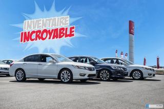 Used 2017 Honda Accord Hybrid GARANTIE LALLIER 10ANS/200,000 KILOMETRES INCLUSE* LE PLUS BEAU CHOIX DE ACCORD AU QUEBEC for sale in Terrebonne, QC
