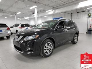 Used 2015 Nissan Rogue SL AWD - CUIR + TOIT + JAMAIS ACCIDENTE !!! for sale in St-Eustache, QC