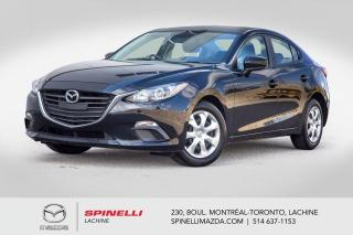 Used 2016 Mazda MAZDA3 GX Auto Camera de Recule Bluetooth 2016 Mazda 3 GX for sale in Lachine, QC