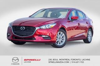 Used 2018 Mazda MAZDA3 50th Anniversary Bose Sieges Chauffants Bluetooth 2018 Mazda 3 50th Anniversary for sale in Lachine, QC