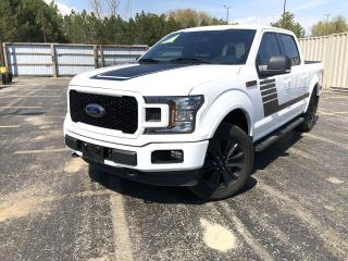 Used 2019 Ford F-150 XLT SPORT CREW FX4 4WD for sale in Cayuga, ON