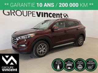 Used 2018 Hyundai Tucson SE / CUIR TOIT MAGS ** GARANTIE 10 ANS ** Occasion à saisir, bas kilométrage! for sale in Shawinigan, QC
