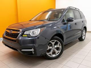 Used 2018 Subaru Forester AWD ALERTES SIÈGES / VOLANT CHAUFF TOIT NAV *CUIR* for sale in St-Jérôme, QC