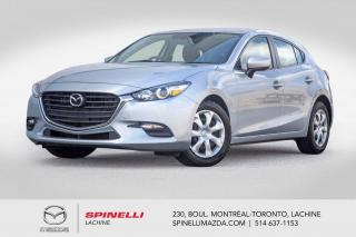 Used 2017 Mazda MAZDA3 GX Sport Automatique Camera de Recule Bluetooth 2017 Mazda 3 Sport GX for sale in Lachine, QC