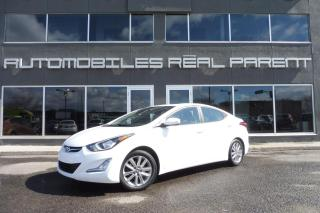 Used 2015 Hyundai Elantra SPORT - TOIT - AUX -PNEUS HIVER ETE - for sale in Québec, QC