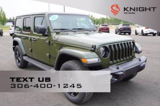 New 2021 Jeep Wrangler UNLIMITED ALTITUDE for sale in Weyburn, SK