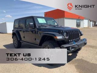 New 2021 Jeep Wrangler Unlimited Rubicon | Hybrid | B/u Camera | Remote Start | Nav | Leather Pkg | Cold Weather Pkg for sale in Weyburn, SK