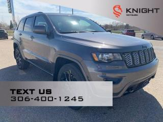 New 2021 Jeep Grand Cherokee Altitude | B/U Camera | Cold Weather Pkg | Heated Seats | Deep Tint Sunscreen Glass for sale in Weyburn, SK