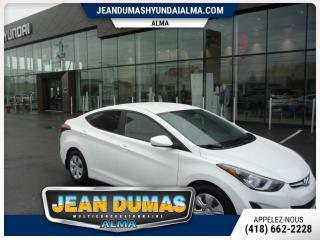 Used 2016 Hyundai Elantra MODÈLE LE-R for sale in Alma, QC