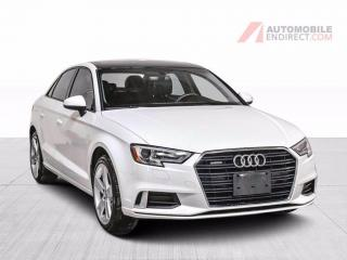 Used 2017 Audi A3 Komfort Quattro Cuir Toit Pano Sièges Chauffants for sale in Île-Perrot, QC