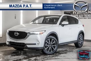 Used 2017 Mazda CX-5 GT AWD,AUTO,GPS,CAMÉRA DE RECUL,CUIR,BAS KM for sale in Montréal, QC