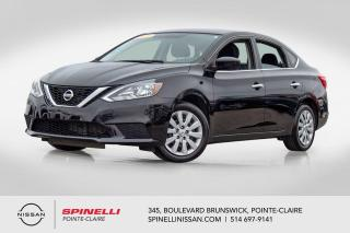 Used 2017 Nissan Sentra SV TRES BAS KM / CAMERA DE RECUL / BLUETOOTH / SMART KEY' for sale in Montréal, QC