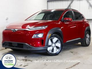 Used 2019 Hyundai KONA Electric Ultimate for sale in Val-David, QC