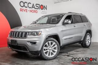 Used 2017 Jeep Grand Cherokee Limited V6 4x4 CUIR+TOIT.OUVRANT+SIEGES.CHAUFFANTS for sale in Boisbriand, QC