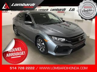 Used 2017 Honda Civic LX|HATCHBACK|AUTO| for sale in Montréal, QC