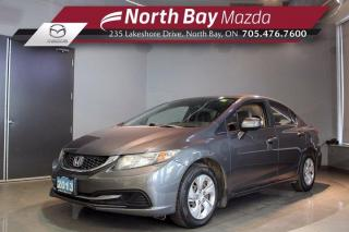 Used 2013 Honda Civic LX with Heated Seats - Bluetooth - Eco Mode for sale in North Bay, ON