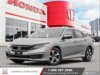 New 2021 Honda Civic LX ECON MODE | REARVIEW CAMERA | APPLE CARPLAY™ & ANDROID AUTO™ for sale in Cambridge, ON