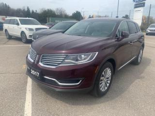 Used 2017 Lincoln MKX Select for sale in New Hamburg, ON