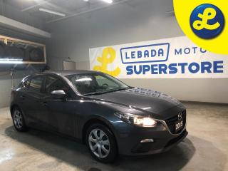 Used 2015 Mazda MAZDA3 2.0 Sky Activ Technology * 6 Speed Manual * Hands Free Calling * Steering Wheel Controls * AM/FM/USB Aux * Keyless Entry * Power Locks * Power Windows for sale in Cambridge, ON