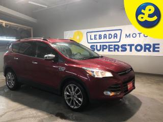 Used 2015 Ford Escape 4WD * Navigation * Cloth Seats W/ Leather Inserts * 19 Chrome Alloy Rims * Separate Winter/Summer Tires * Eco Boost  * Back Up Camera *  Cruise Contr for sale in Cambridge, ON