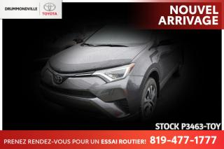 Used 2017 Toyota RAV4 LE| CAM RECUL| SIÈGES CHAUFFANTS for sale in Drummondville, QC