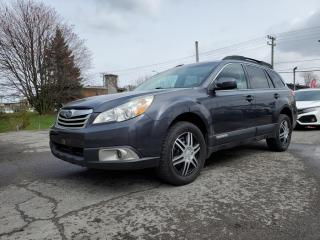 Used 2012 Subaru Outback *A/C*CRUISE*SIÈGES CH*1 OWNER* 45$/SEM for sale in St-Jérôme, QC