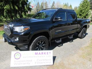 Used 2017 Toyota Tacoma TRD/SPORT, NAVI, STEPS, CREW CAB, WHEELS & TIRES, INSP, WARR & BCAA MEMBERSHIP! for sale in Surrey, BC