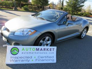 Used 2008 Mitsubishi Eclipse SPYDER, AUTO, FINANCING, INSPECTED, WARRANTY & BCAA MEMBERSHIP for sale in Surrey, BC