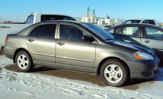 Used 2008 Toyota Corolla LE for sale in North Battleford, SK