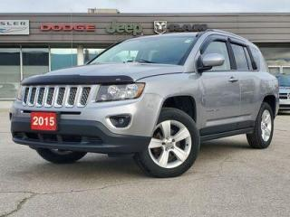 Used 2015 Jeep Compass High Altitude | HEATED LEATHER | SUNROOF for sale in Listowel, ON